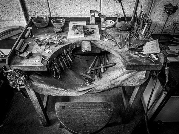 Breda Haugh Jewellery Making Workbench