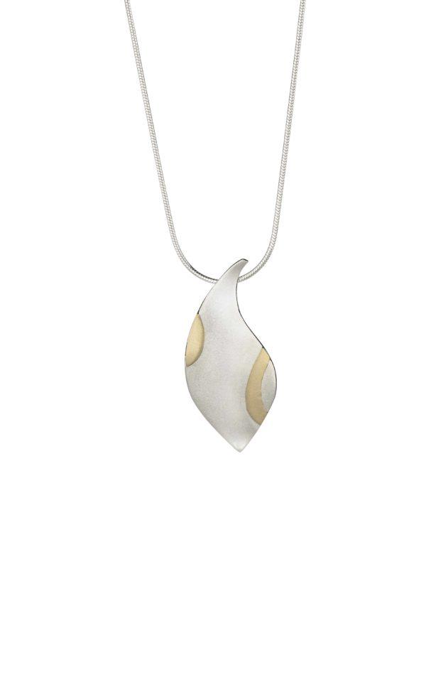 Product Gold Dance Medium Pendant Jewellery