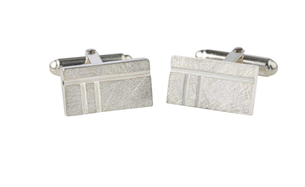 Product Oblong Oak Cufflinks Jewellery