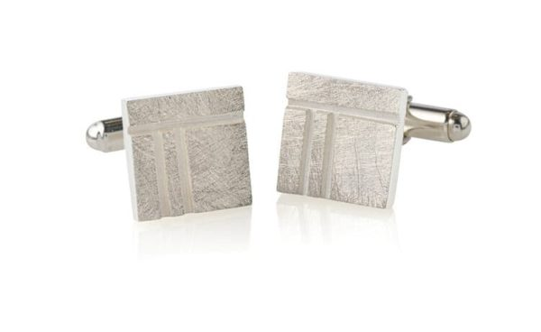 Product Ogham Oak Square Cufflinks Jewellery
