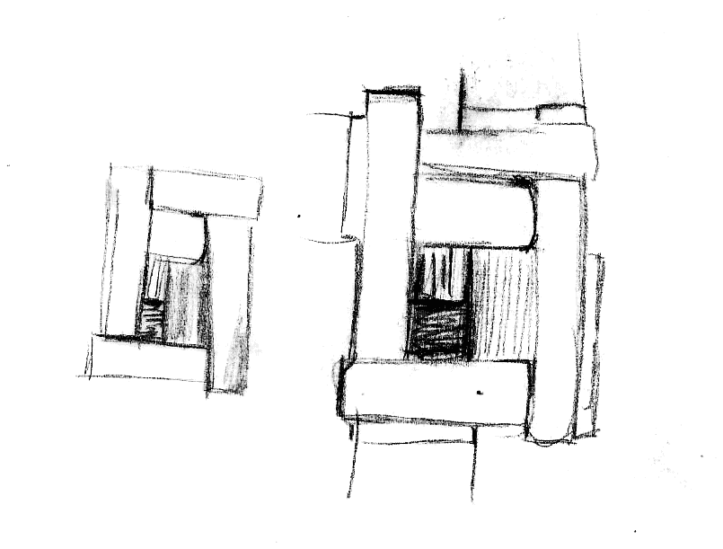 Sketch of St Brigids Cross Jewellery