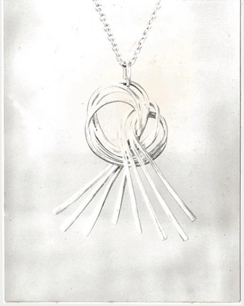 Harvest Knot Pendant Jewellery for Lunasa
