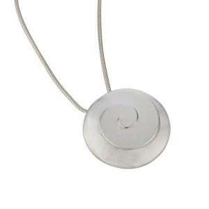 Product Modern Spiral Collection Large Pendant Jewellery